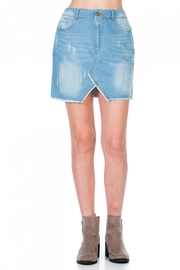 Paper Crane Emma Denim Skirt - Product Mini Image