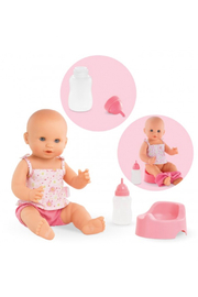 Corolle Emma Drink-And-Wet Bath Baby Doll - Front cropped