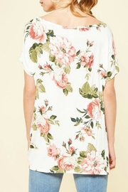 Izzie's Boutique Emma Floral Top - Front full body