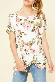 Izzie's Boutique Emma Floral Top - Front cropped
