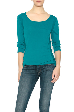 Emma G Teal Sweater - Product List Image