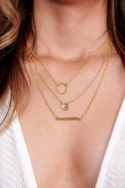 Boho Love EMMA LAYERED NECKLACE GOLD - Product Mini Image