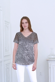 another love  Emma Leopard Fade Top - Front cropped