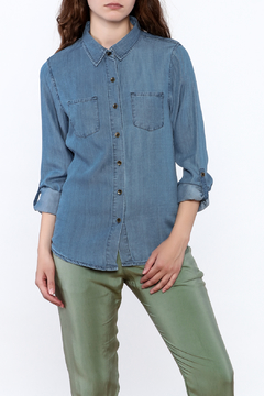 Shoptiques Product: Button Up Chambray Top