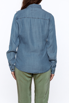 Emma Outfitters Button Up Chambray Top - Alternate List Image