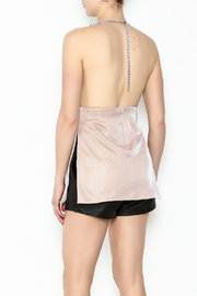 Emma Pink Dress - Back cropped
