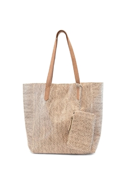 Joy Accessories Emma Python Tote - Product List Image