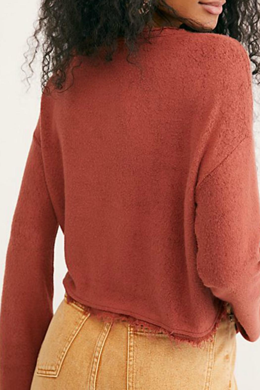 Free People Emma's Henley Top - Front Full Image
