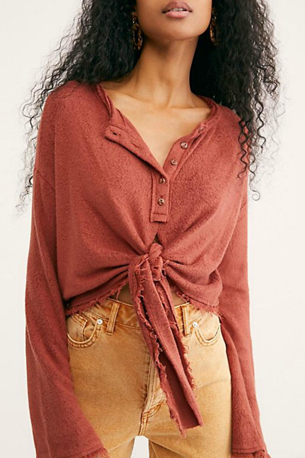 Free People Emma's Henley Top - Main Image