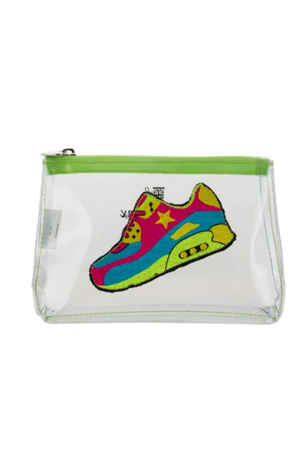 Emma Lomax Clear Sneaker Pouch - Main Image