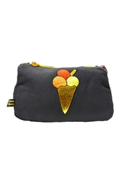 Emma Lomax Makeup Ice Cream Pouch - Front cropped
