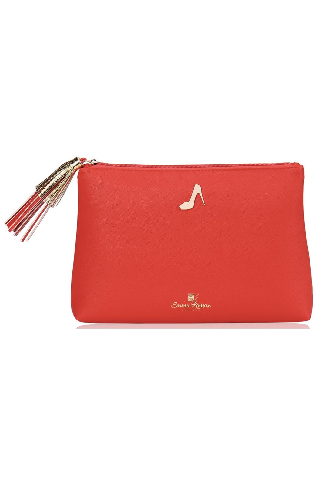 Emma Lomax Paint-Town-Red Clutch - Main Image