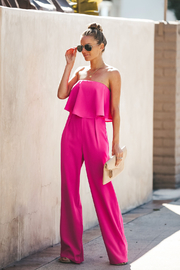 Sugarlips Emmaly Strapless Jumpsuit - Product Mini Image