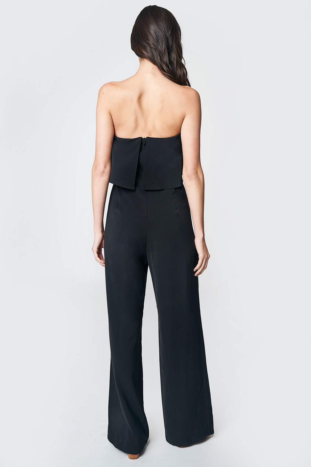 Sugarlips Emmaly Strapless Jumpsuit - Back Cropped Image