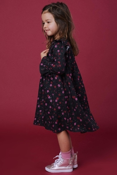 Lil Lemons Emmy Floral Dress - Alternate List Image