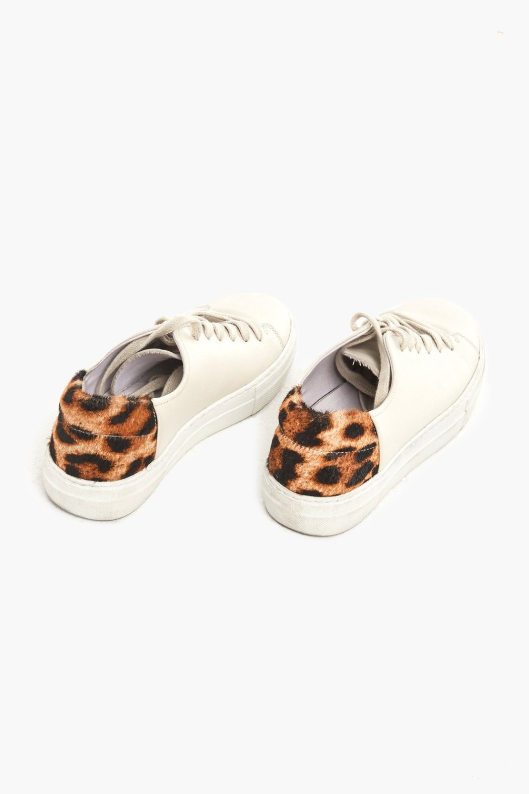 Able Emmy Leopard Sneakers - Side Cropped Image