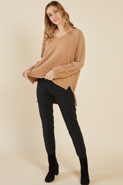 Sadie & Sage EMMY SUEDE LEGGING - Product Mini Image