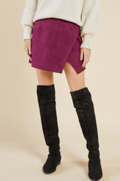 Shoptiques Product: Emmy Suede Skirt