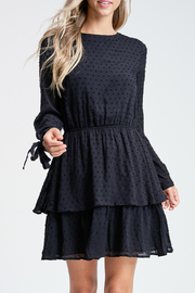 Paper Moon Emmy tie back dress - Front cropped