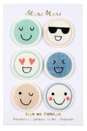 Meri Meri Emoji Iron On Patches - Product Mini Image