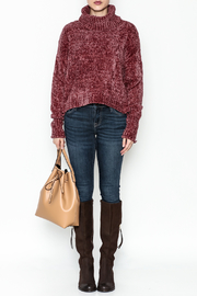 Emory Park Chenille Sweater - Front full body