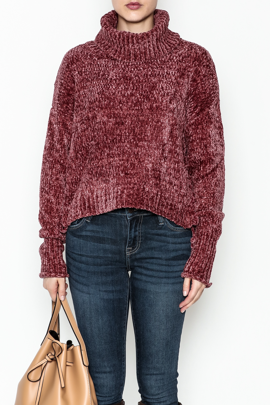 Emory Park Chenille Sweater - Side Cropped Image