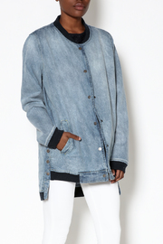 Emory Park Loose Denim Jacket - Product Mini Image