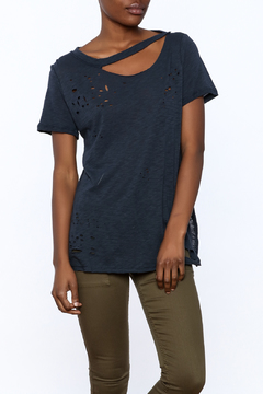 Emory Park Distressed Short Sleeve Top - Product List Image