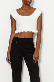 Emory Park Fuzzy Crop Sweater - Product Mini Image