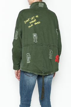 Emory Park Ripped Military Jacket - Alternate List Image