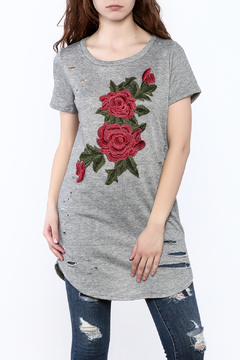 Emory Park Grey Tunic Top - Product List Image