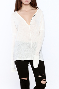 Emory Park Henley Long Sleeve Top - Product List Image