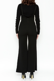 Emory Park Wide Leg Overall - Back cropped