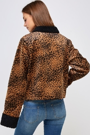 Emory Park Animal Quilted Jacket - Back cropped