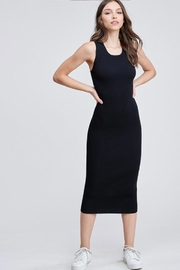 Emory Park Back Cutout Dress - Front cropped