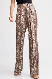 Emory Park Belted Python Pant - Front full body