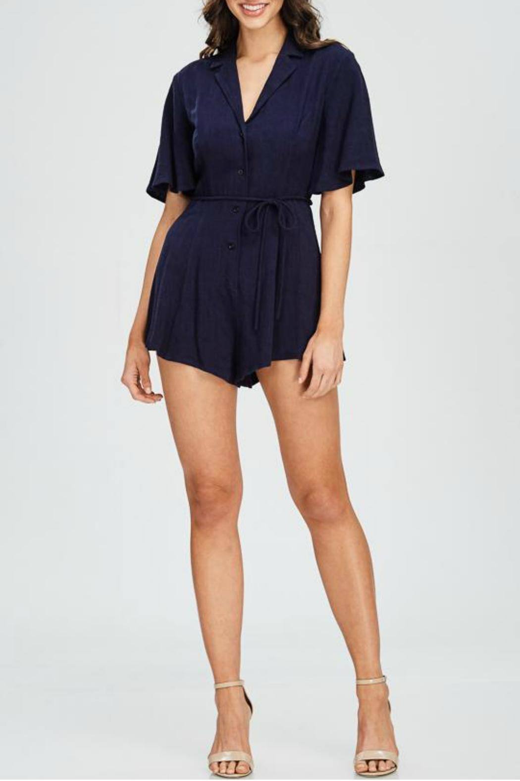 Emory Park Button Down Romper - Main Image