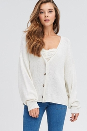 Emory Park Button Front Cardigan - Front cropped