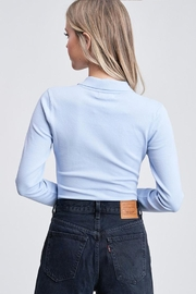 Emory Park Button-Up Sweater Bodysuit - Back cropped