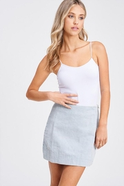 Emory Park Corduroy Mini Skirt - Product Mini Image