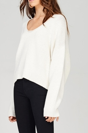 Emory Park Crop Sweater - Front full body