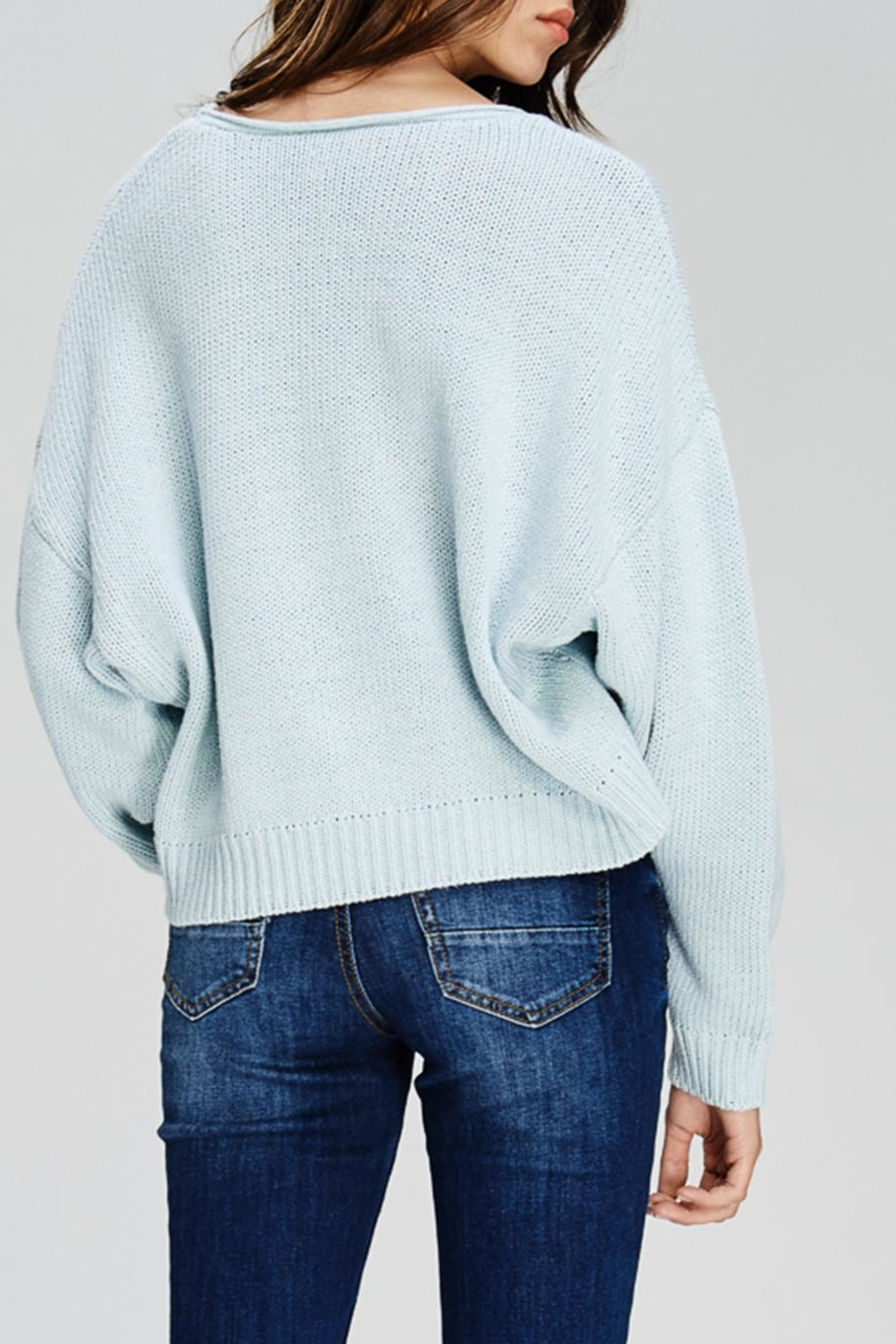 Emory Park Crop Sweater - Side Cropped Image