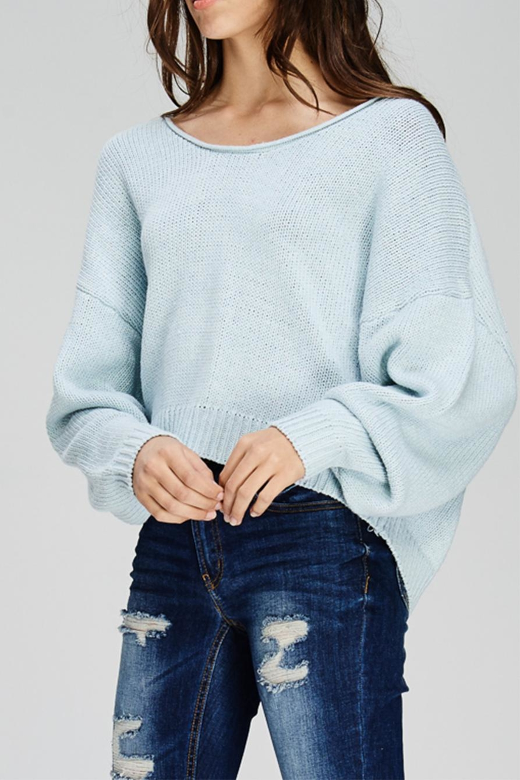 Emory Park Crop Sweater - Main Image