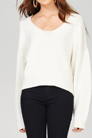 Emory Park Crop Vneck Sweater - Product Mini Image