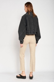 Emory Park Cropped Oversize Jean Jacket - Front full body