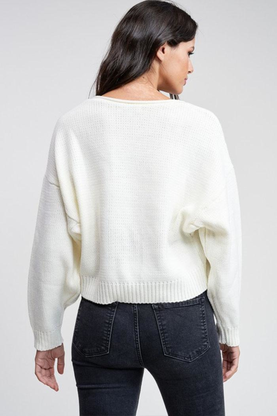 Emory Park Cropped Pullover Sweater - Side Cropped Image