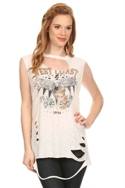 Emory Park Distressed Westcoast Top - Product Mini Image