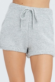 Emory Park Elastic Sweater Shorts - Product Mini Image