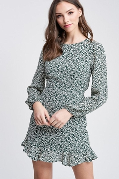 Shoptiques Product: Floral Cutout Dress