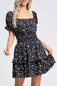 Emory Park Floral Smock-Waist Dress - Product List Image